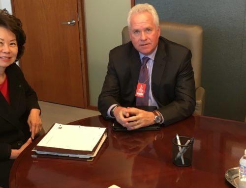 AGC Meets with Transportation Secretary Chao